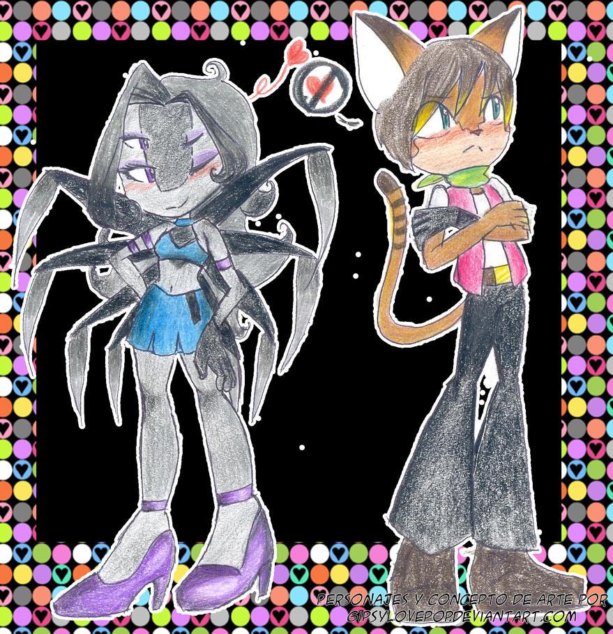 Dandelot y margarita en gender bender by Gipsylovepop