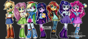 Equestria Girls / My little Pony