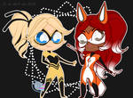 Chibis chibis Queen B y Rena rouge by Vixi-PC