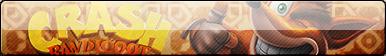 FAN BUTTON -Crash Bandicoot- free to use