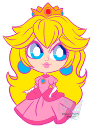 Chibi chibi -Peach- by Vixi-PC