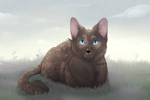 Completed feline ych by CoughingFish