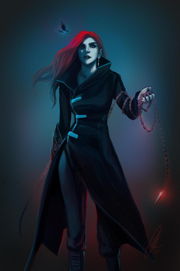 Amelia Blackthorn by Falballa