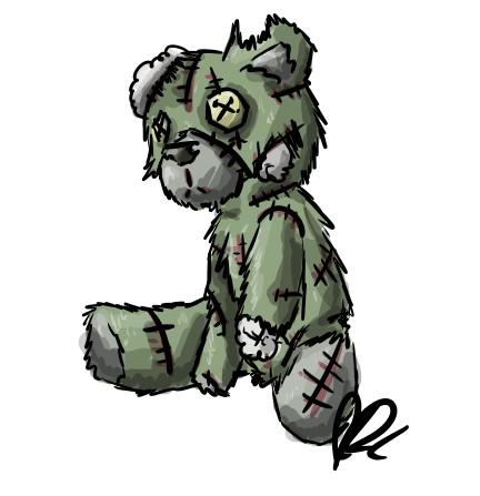 Zombie Teddy By Freakout679 On Deviantart