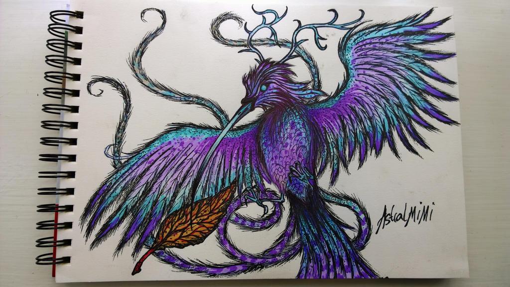 A quick pen and biro sketch by AstralMimi