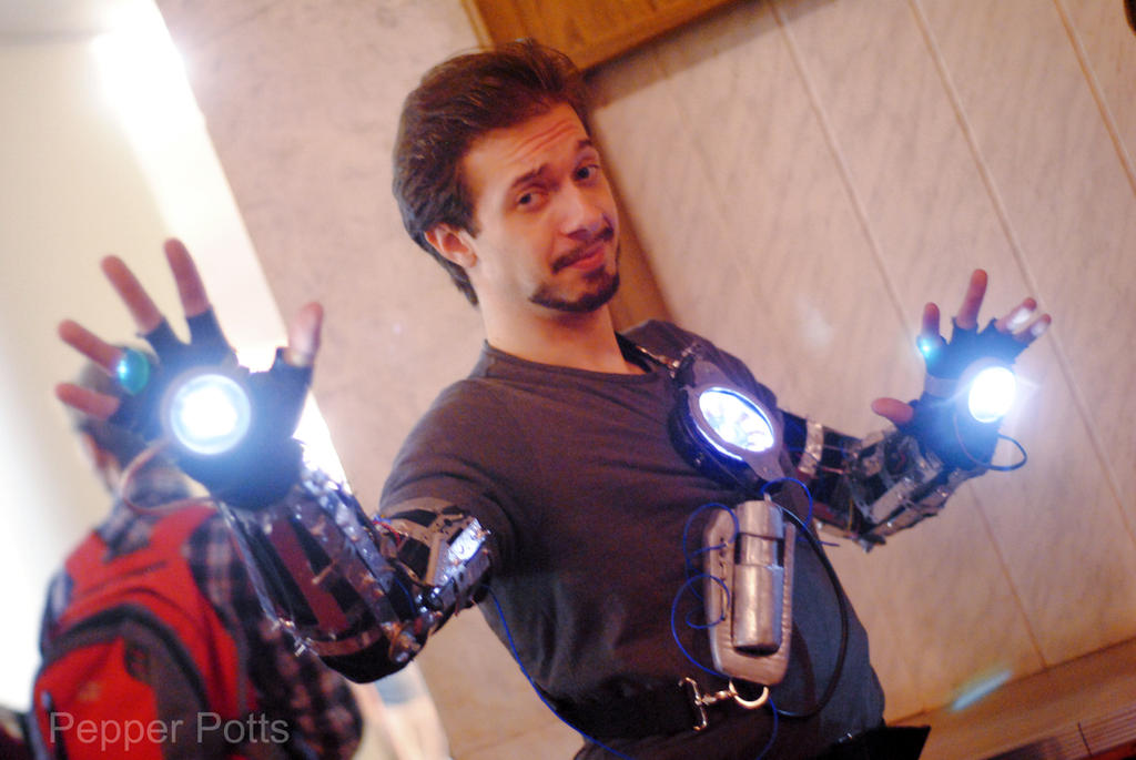 Tony Stark cosplay by PepperStark on DeviantArt Tony Stark Cosplay