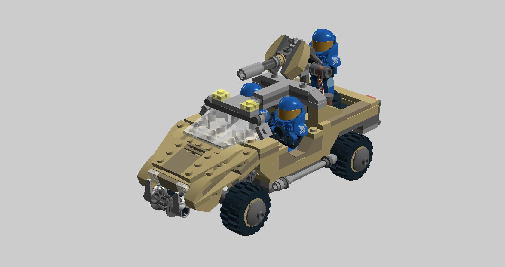 LEGO Halo - M12 Warthog LRV by Aurik-Kal-Durin on DeviantArt