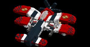 LEGO Crimson Skies - Hughes P-21 Devastator 3.0