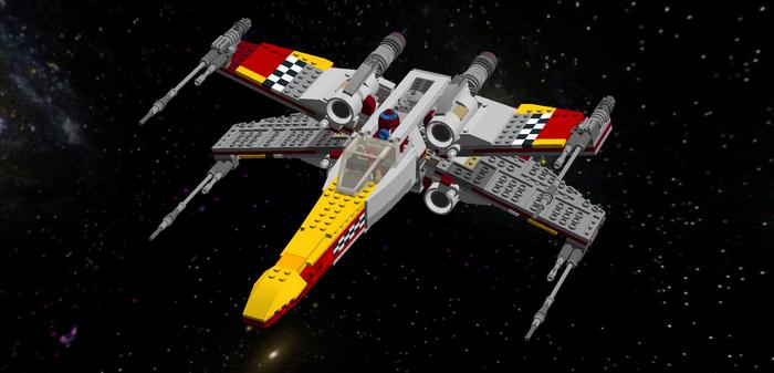 LEGO Star Wars - Sabine's Prototype X-Wing