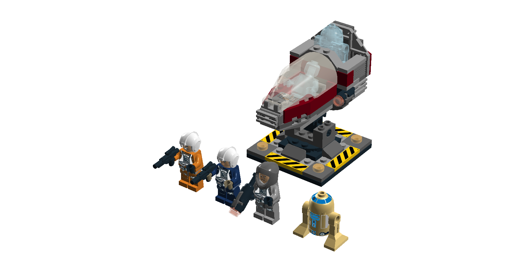 LEGO Star Wars - Rebel Squadron Battle Pack (Idea) by ...