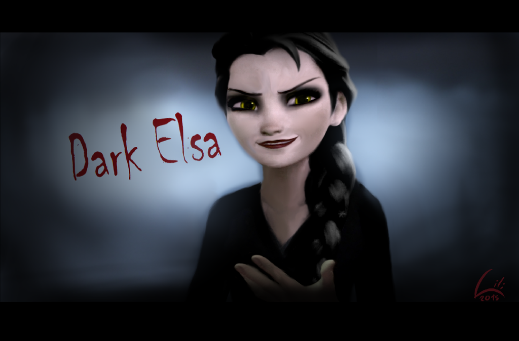 evil elsa edit by - photo #40