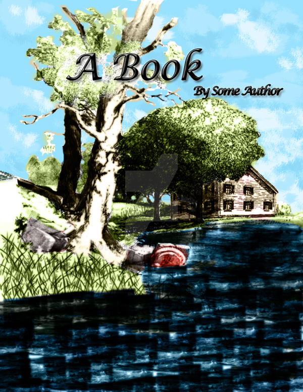 Simple Book Cover Art ~ The first simple book cover by passiel on deviantart