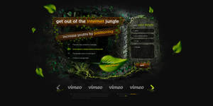 Jungle positioning Landing Page