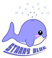 Starry Blue Whale by The-8th-Sin