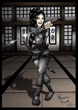 Yuriko, The Ninja-Vampire!