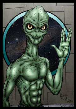 The Alien!
