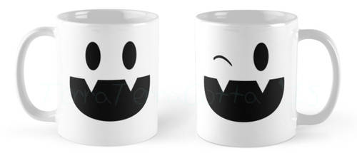 Jack Frost Smile Mug :LINK IN DESCRIPTION: by TerraTerraCotta