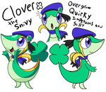 Clover the Snivy .:Ref:.