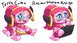 Terra Cotta Hoopa by TerraTerraCotta