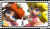 1: Daisy + Peach by serenastamps