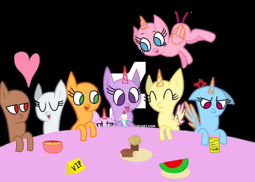 P2U Base #1 ' having fun with friends ' by RachelClara