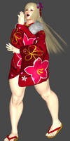 Lili Kimono Mesh Mod