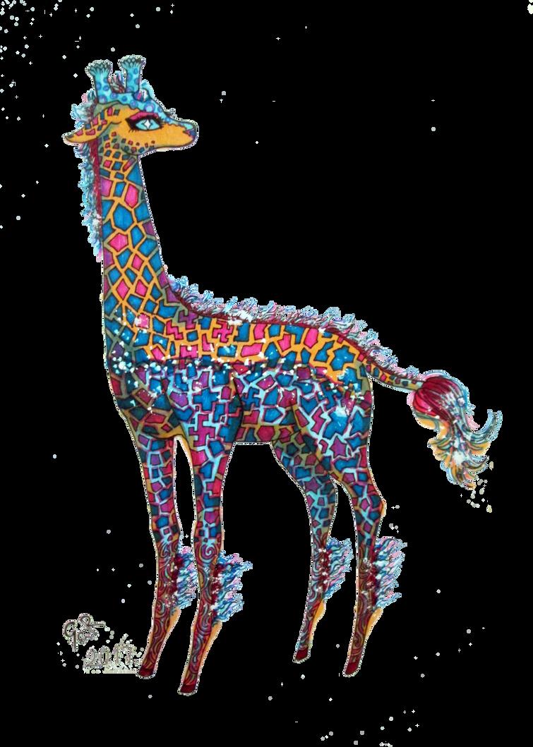 Giraffe from Same Forest by Vexkex