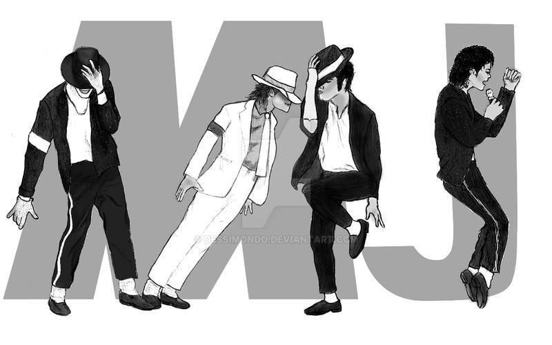 Michael Jackson Poses By Dessimondo On Deviantart