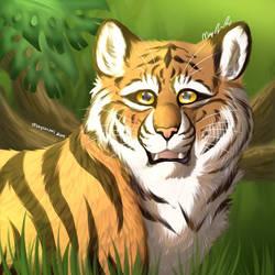 Jungle Stripes by marycarmel
