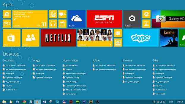 Windows 9 / Blue Concept 1.0