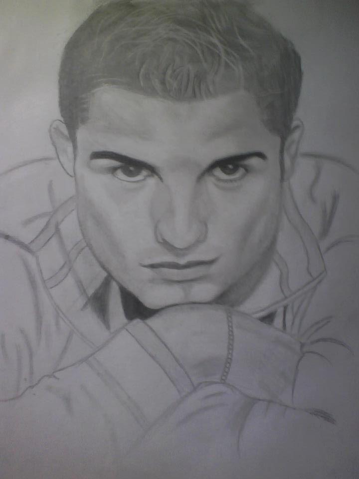 drawing pencil CRISTIANO RONALDO by awan-saja on DeviantArt
