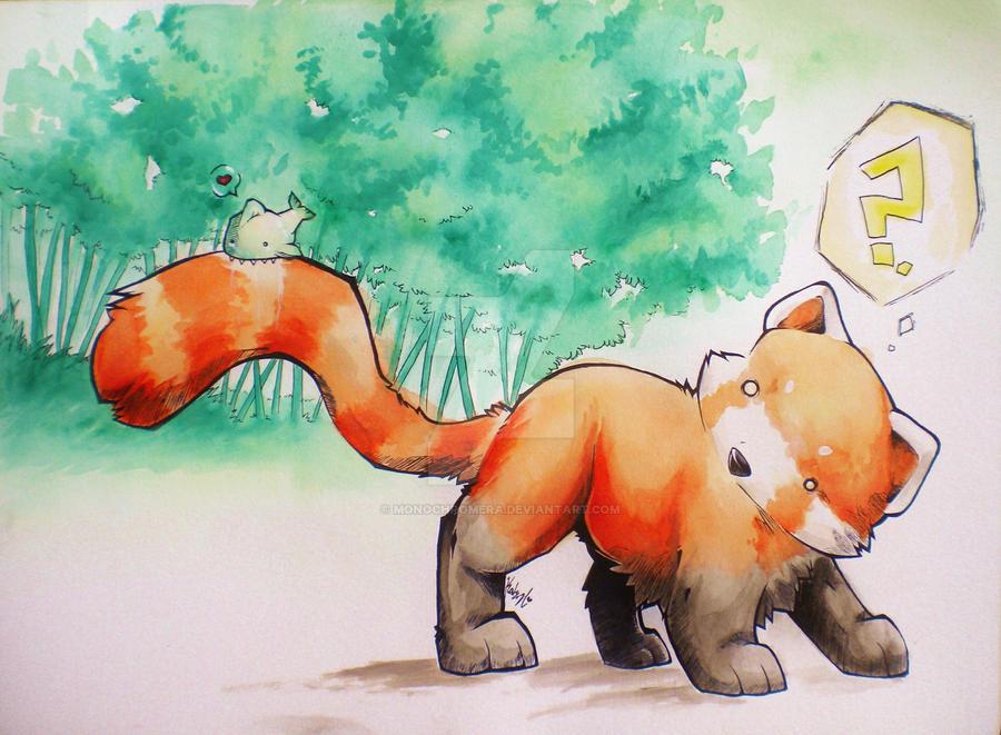 Tasty Tail by monochromera