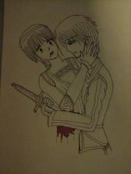 Chiaro Kills Lucrezia (Finally) by TheRaven214