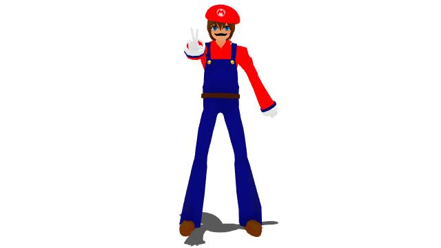Mario Smash 64 Render (Humanized Version) by HugoSanchez2000