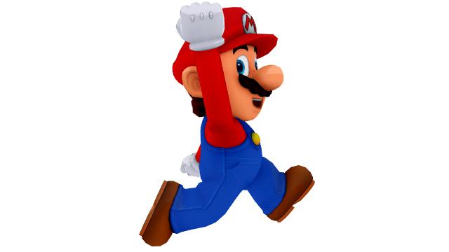 Mario Jump Render by HugoSanchez2000