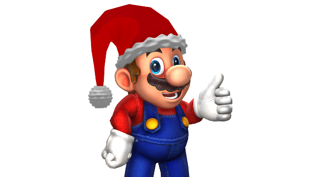 Christmas Mario Png.Mario Gets Ready For Christmas By Hugosanchez2000 On Deviantart