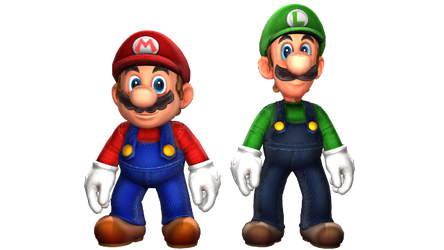 Mario And Luigi by HugoSanchez2000