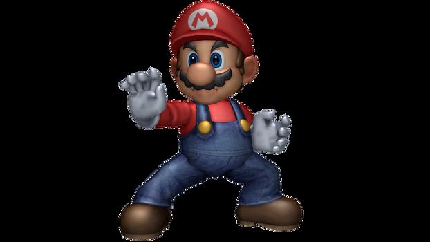 Super Smash Bros. Ultimate: Mario Brawl Render
