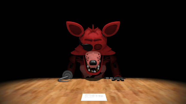 Animatronic Salvage: Foxy