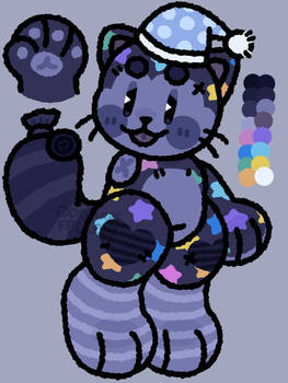 [RAFFLE PRIZE CUSTOM] Sleepy Cat