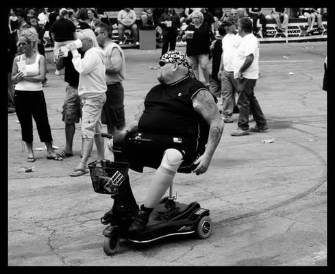 Wheelchair Rocker