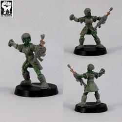 Novice Militant - Grenadier
