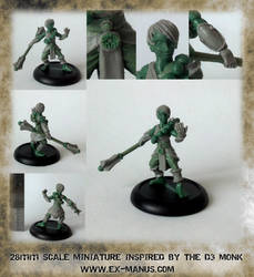 D3 Monk from ExManus by Pendix