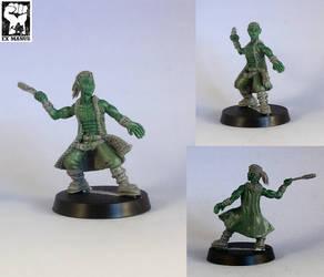 Zan - Master Thrower by Pendix