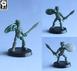 Little Gladiator by Pendix