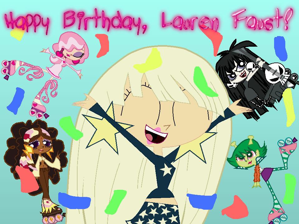 Happy Birthday, Lauren Faust!