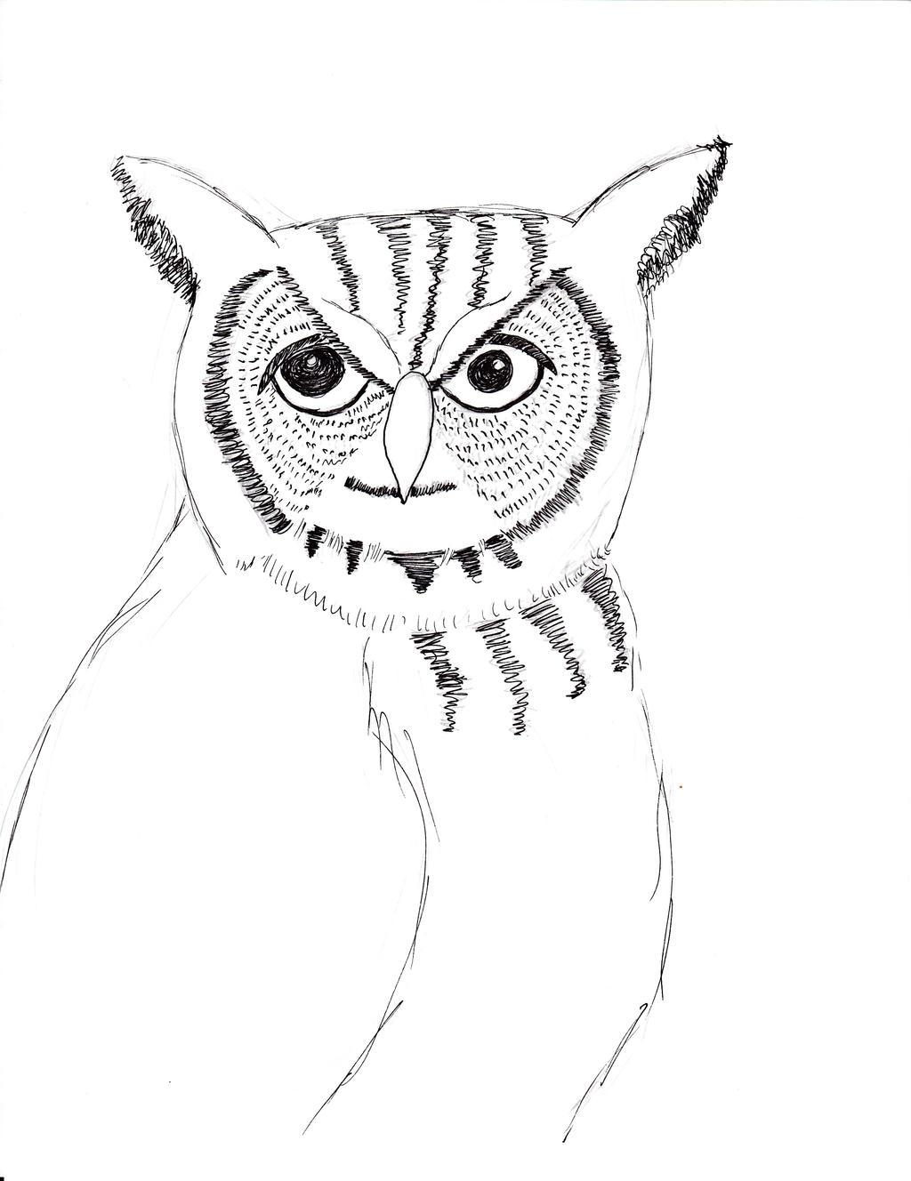 Owl Wedding Ring