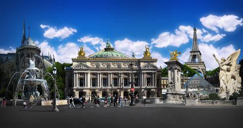 Paris Photomontage