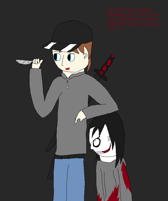 ME AND LITTLE JEFFY By Ask-HABIT On DeviantArt