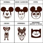 Mickey Style Meme